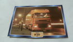 DAF 95 XF 1997 Truck framed picture